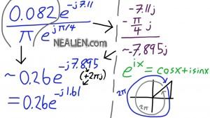 Eulers Formula imaginary calculation