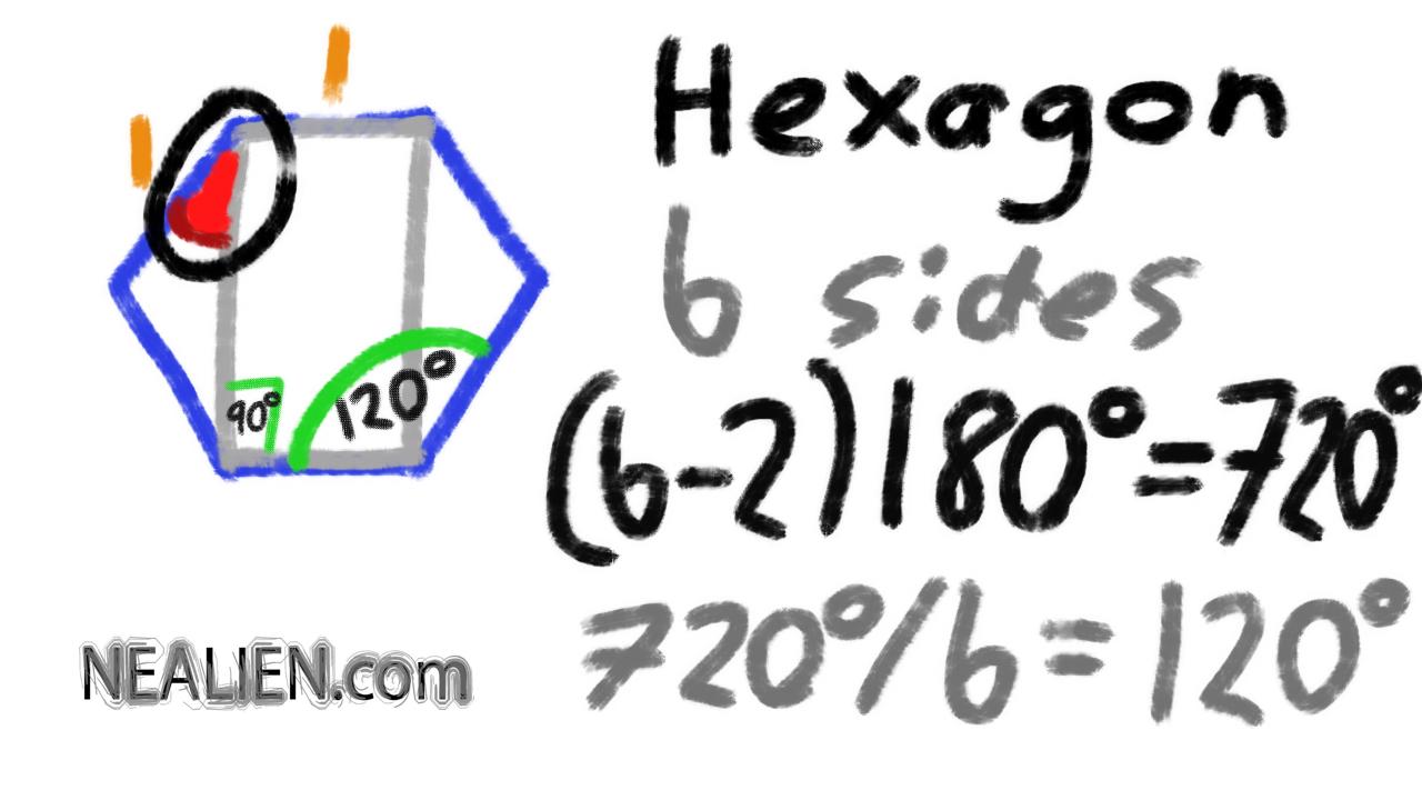 Geometry Problem with Regular Hexagon