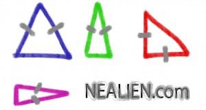 iscosceles triangles