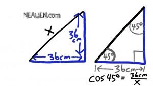 square diagonal 2